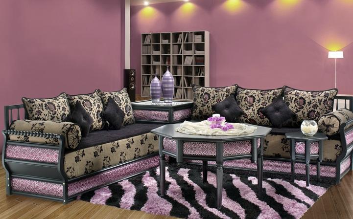 idée decoration salon marocain moderne 2012 - Photo Déco