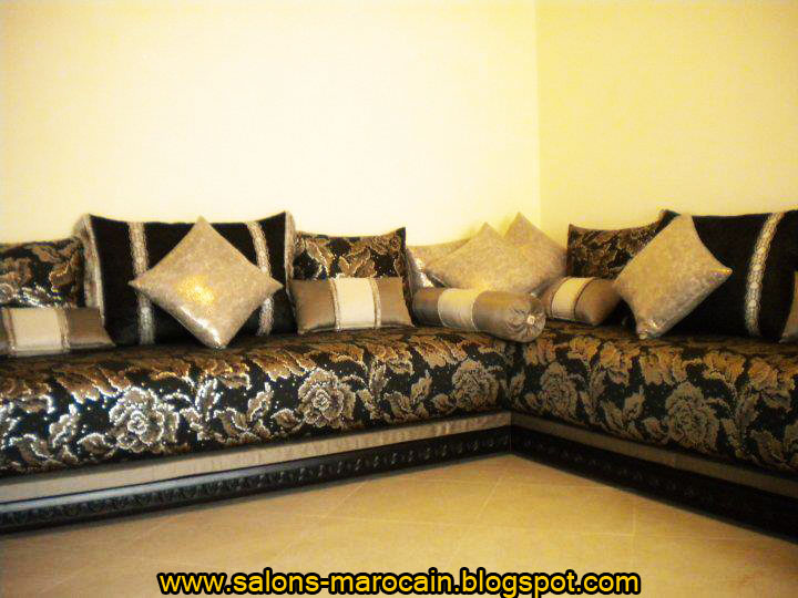 Decoration salon marocain moderne 2013 for Modele deco salon moderne