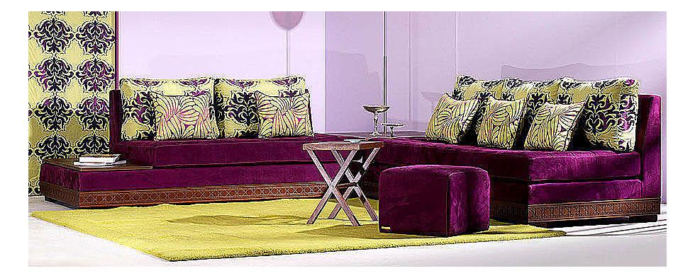 decoration salon marocain moderne 2014