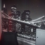 idée déco chambre ado garçon theme new york