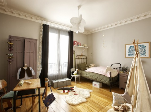 Id e d co chambre b b vintage for Exemple deco chambre bebe