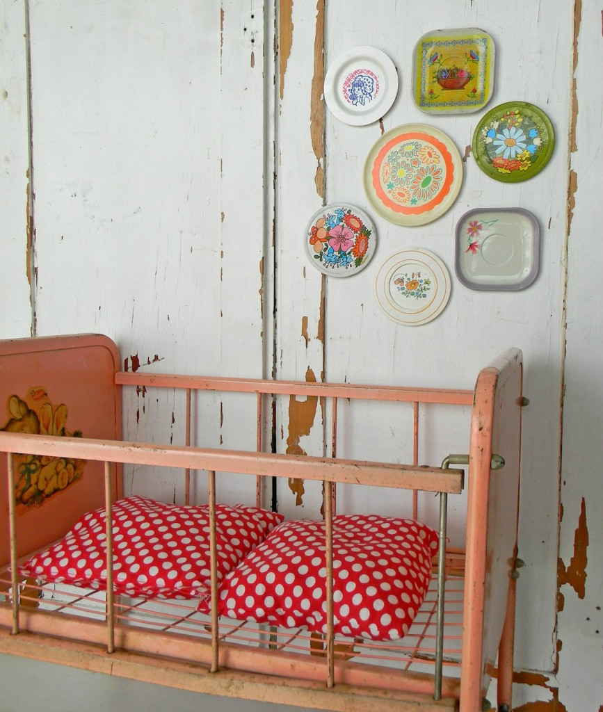 Id e d co chambre b b vintage for Deco maison retro