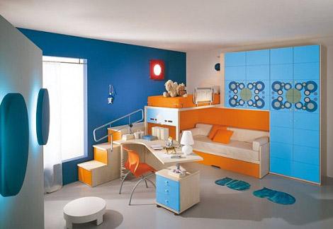 Decoration Chambre Gar Ef Bf Bdon Bleue