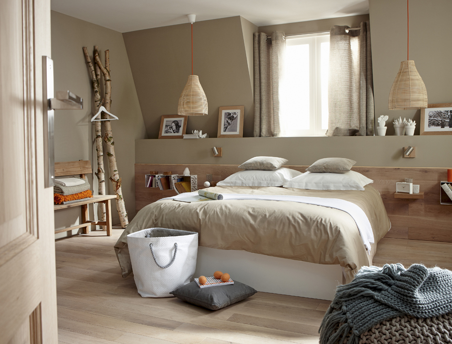 Id e d co chambre naturelle for Deco maison idee