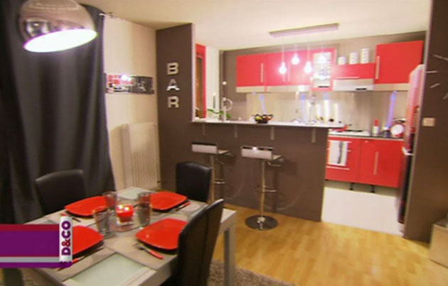 Dco Rouge. Best Salle A Manger Rouge Galerie S Et Ides Dcoration ...