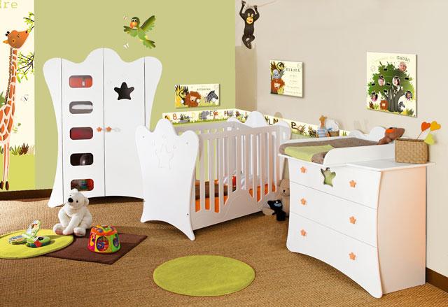 id e d co pour chambre b b pas cher. Black Bedroom Furniture Sets. Home Design Ideas