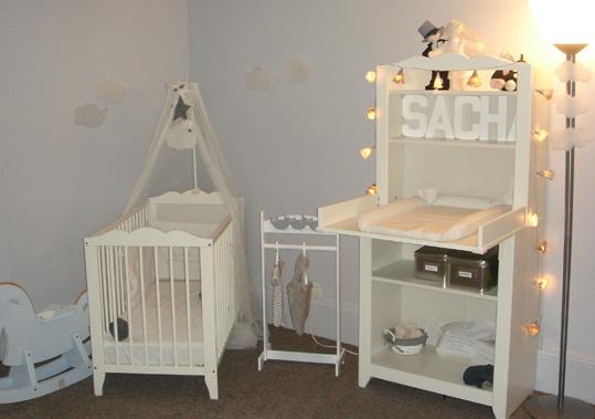 univers idée décoration chambre bébé mixte