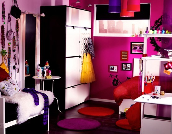 id es d co chambre ado design. Black Bedroom Furniture Sets. Home Design Ideas