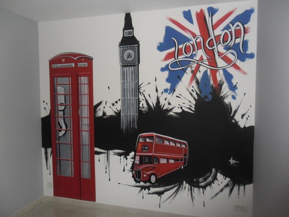 Idee deco chambre ado london for Deco chambre london ado