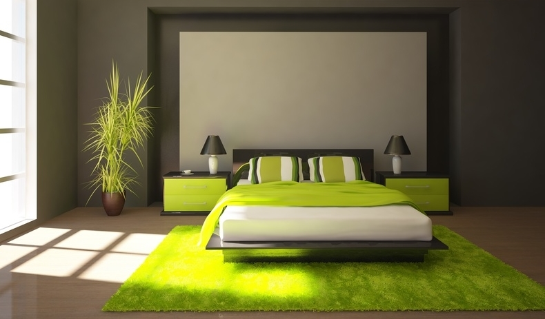Idee deco chambre adulte nature for Exemple deco chambre adulte