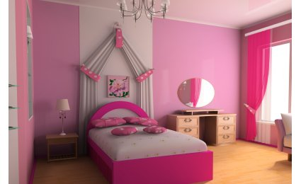 Photo idee deco chambre fille princesse - Photo Déco