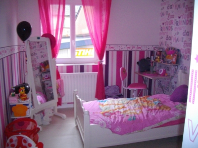idee deco chambre fille princesse. Black Bedroom Furniture Sets. Home Design Ideas