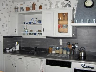 idee deco cuisine blanche et grise