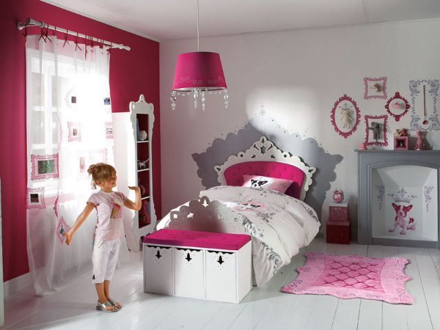 belle idee decoration chambre fille 8 ans