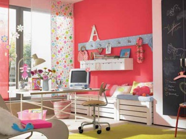 idée idee decoration chambre fille 8 ans - Photo Déco
