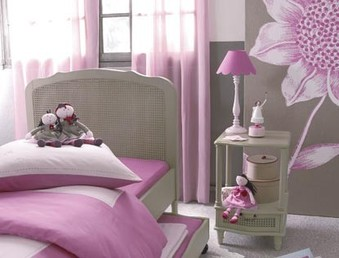 Photo idee decoration chambre fille 8 ans - Photo Déco