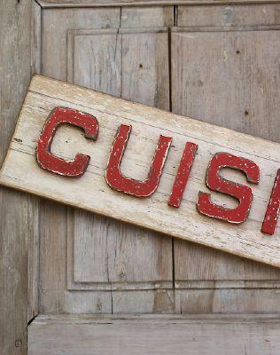 Plaque deco cuisine retro - Plaque deco cuisine ...