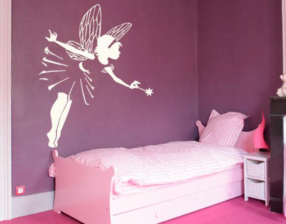 exemple stickers deco chambre fille princesse