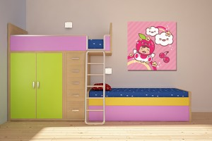 Tableau d co chambre b b pas cher for Organisation chambre bebe