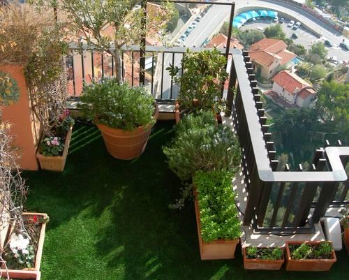 Am nagement balcon terrasse appartement for Appartement amenagement