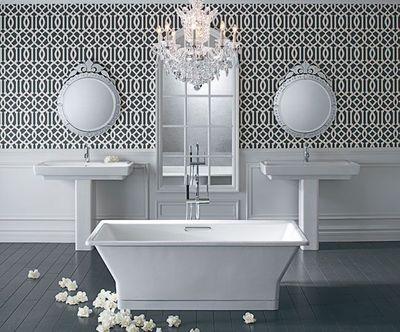 Carrelage salle de bain l 39 ancienne - Salle de bain a l ancienne ...