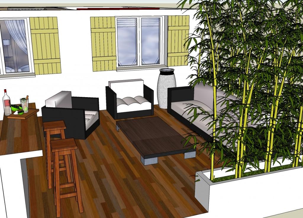 d co pour terrasses. Black Bedroom Furniture Sets. Home Design Ideas