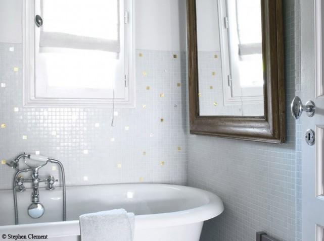 D co salle de bain carrelage for Deco carrelage salle de bain
