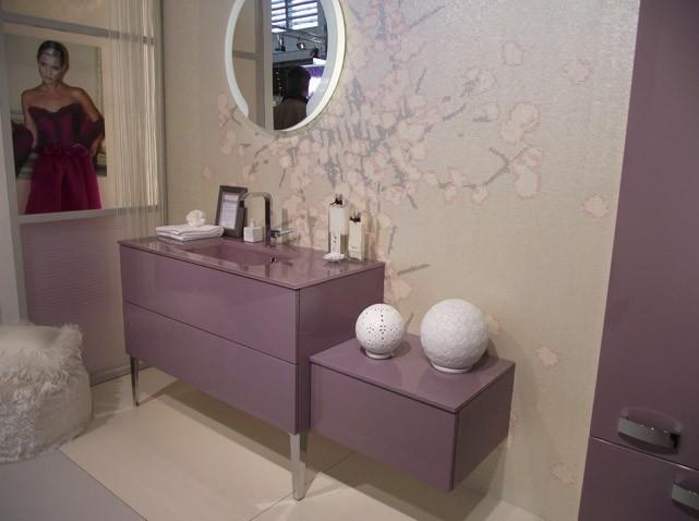 modèle déco salle de bain romantique