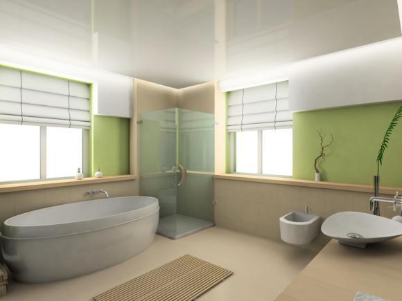 D co salle de bains nature for Salle de bain deco nature