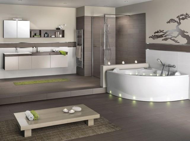D co salle de bains nature for Deco salle de bain nature