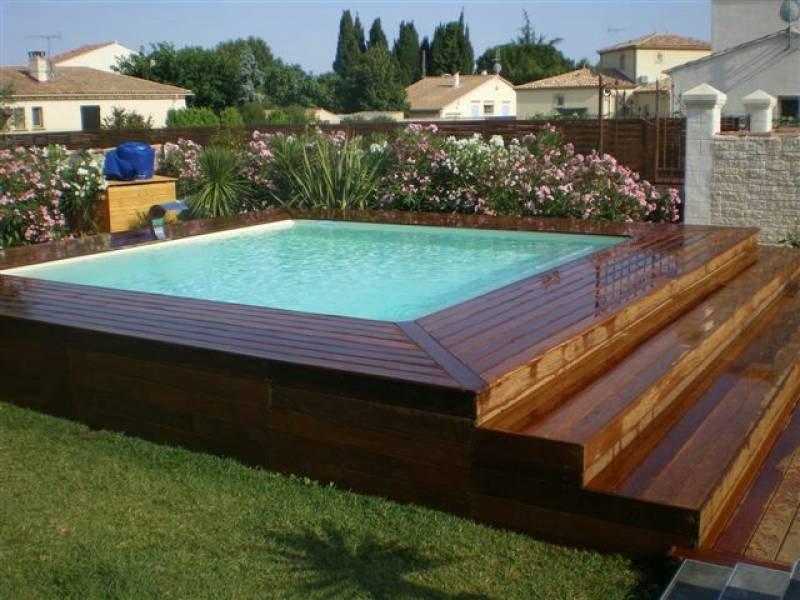 D co terrasse avec piscine - Model de piscine creuse ...
