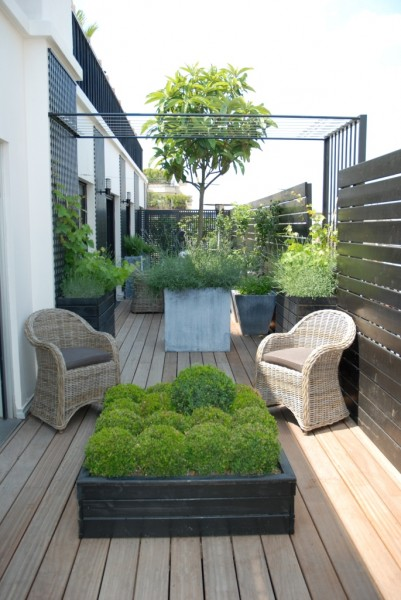 D co terrasse design for Design exterieur terrasse