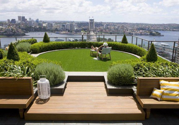 aménagement déco terrasse design