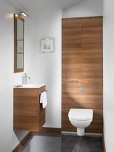 Photo déco toilettes bois