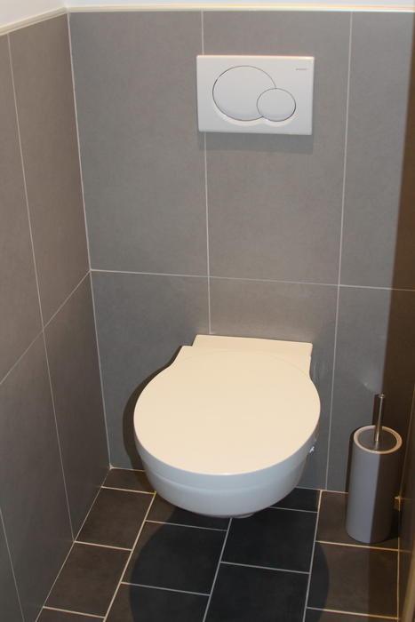 Modèle Déco Toilettes Gris