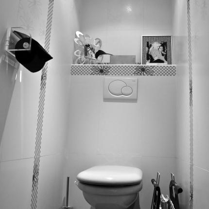 Best Deco Toilette Gris Et Blanc Ideas - Design Trends 2017 ...