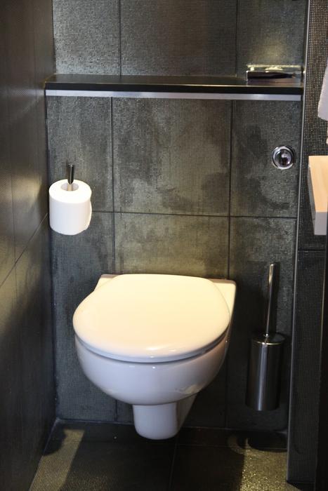 Photo déco toilettes moderne