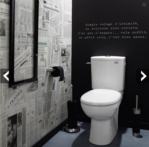 organisation déco toilettes moderne