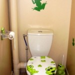 Photo déco toilettes nature