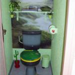 déco toilettes nature