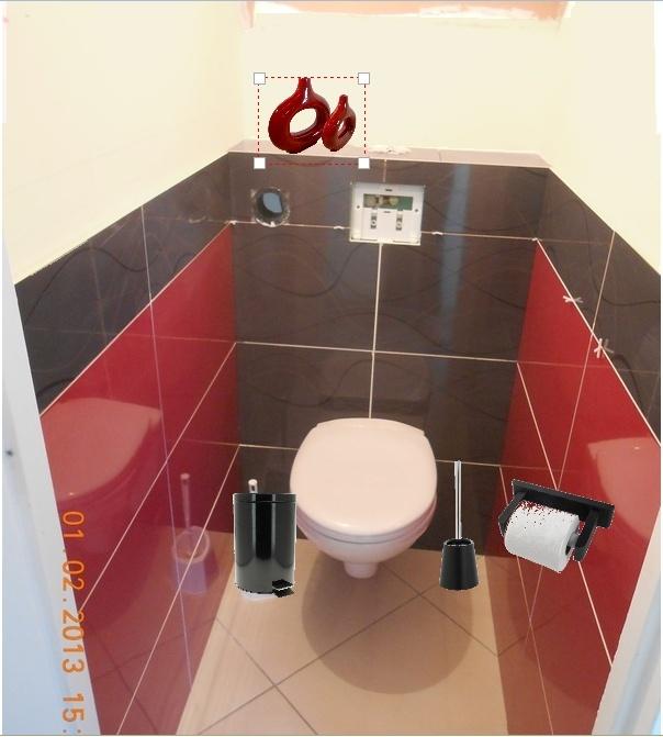 D co toilettes sous escalier for Exemple deco