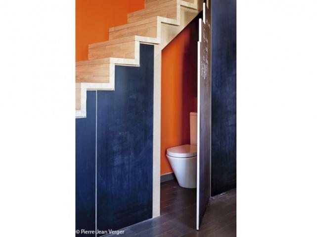 D Co Toilettes Sous Escalier