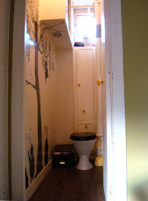 d coration toilettes originales. Black Bedroom Furniture Sets. Home Design Ideas