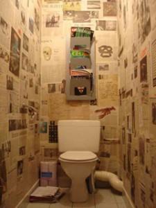 décoration toilettes originales