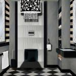 décoration wc chic