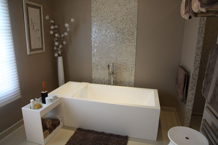 Deco petite salle de bain zen for Amenagement salle de bain zen