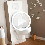 Deco pour wc suspendu for Amenagement wc suspendu