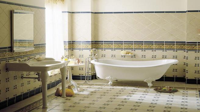 exemple deco salle de bain à l\'ancienne - Photo Déco