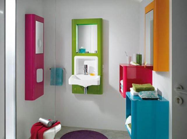Deco salle de bain 2 m2 for Exemple deco salle de bain