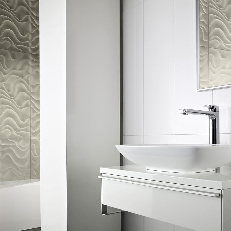 Deco salle de bain carrelage blanc for Carrelage villeroy et boch salle de bain